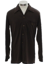 Mens/Boys Solid Disco Shirt