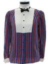 Womens Tuxedo Style Shirt