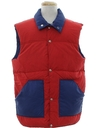 Mens Totally 80s Reversible Ski Vest