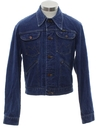 Mens Mod Western Denim Jacket