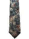 Mens Wide Wicked 90s Necktie
