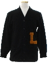 Mens Letter Sweater