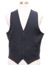 Mens Pinstriped Suit Vest