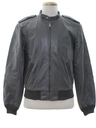 Mens Cafe Racer Leather Jacket