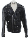Unisex Motorcycle Leather Jacket