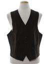 Mens Corduroy Suit Vest