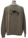 Mens Manly Man Deer Sweater