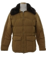 Unisex Goose Down Car Coat Style Ski Jacket