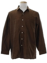 Mens Silk Sport Shirt