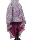 Womens/Girls Totally 80s Asymmetrical Cocktail Skirt