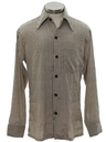 Mens or Boys Boys Subtle Print Disco Shirt