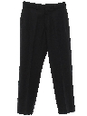 Mens Flat Front Navy Academy Slacks Pants