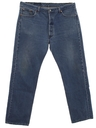 Mens Button Fly 501 Levis Jeans Pants