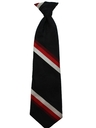 Mens Wide Disco Clip-On Necktie