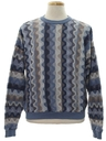 Mens Totally 80s Designer Cosby Sweater