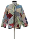 Womens Patchwork Hippie Shirt
