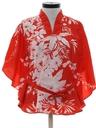 Womens Butterfly Style Hawaiian Shirt