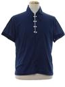 Mens Mod Pullover Sport Shirt