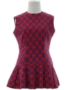 Womens/Girls Mod Mini Dress