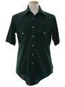 Mens Solid Disco Shirt