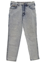 Womens Totally 80s Stone Washed Jeans Denim Pants