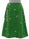 Womens Mod Reversible Wrap Skirt