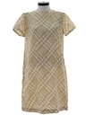 Womens A-Line Day Dress