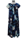 Womens A-Line Hawaiian Muu Muu Dress