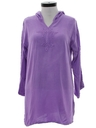 Womens Hippie Caftan Mini Dress