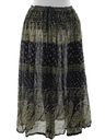 Womens Broomstick Hippie Skirt