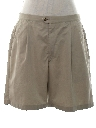 Mens Totally 80s Pleated Golf Shorts