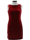 Womens Velvet Prom Or Cocktail Dress