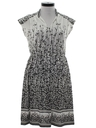 Womens Print Disco Dress