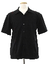 Mens Knit Bowling Shirt