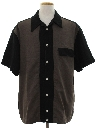 Mens Retro Look Club/Rave Shirt-Jac Style Shirt