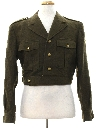 Mens Ike Style Military Jacket