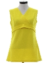 Womens Mod Micro Mini Knit Go Go Dress