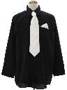 Mens Wicked 90s Mobster Shirt/Necktie Set