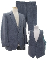 Mens Totally 80s Three Piece Suit