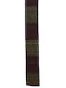 Mens Accessories - Flat Bottom Skinny Rockabilly Necktie