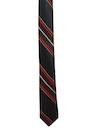 Mens Diagonal Stripe Skinny Necktie