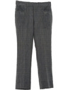 Mens Mod Flared Leisure Slacks Pants