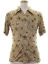 Mens/Boys Print Disco Shirt