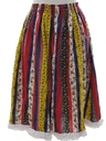 Womens Hippie Skirt