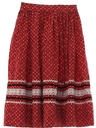 Womens Square Dance Skirt