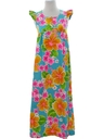 Womens/Girls Mod Hawaiian Mai Dress