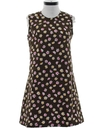 Womens Mod A-Line Dress