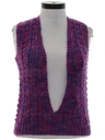 Womens or Girls Hippie Sweater Vest