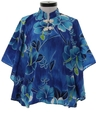 Womens Hawaiian Butterfly Shirt