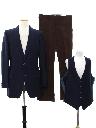 Mens Three Piece Combo Disco Suit